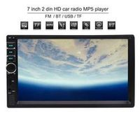 EinCar MP5 Player Double 2 din Car Stereo 7 inch Front AUX USB/TF Card In Bluetooth