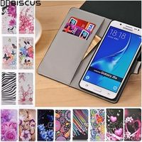 DD biscus Leather Flip Wallet Soft Case For Samsung Galaxy S5 S6 S7 Edge S8 Plus