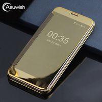 Asuwish 360 Flip Cover Phone Case For Samsung Galaxy J3 J5 2016 J 3 5 SM J320F J320