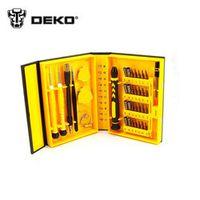 DEKOPRO 38 in 1 Multi Repair Tool Box Magnetic Opening Tools Kit Screwdriver for Cell Phones iPhone 6 Plus 5S