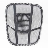 LARATH Comfortable Mesh Relief Back Pain Support Car Office Seat Chair Black Lumbar