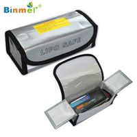 Hot-sale BINMER 185*75*60MM Fireproof Safety Guard Safe Bag Box For LiPo 1 pc