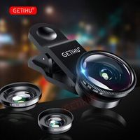 GETIHU Fisheye Camera Lens Mobile Phone Lenses Universal Fish eye Zoom Smartphone