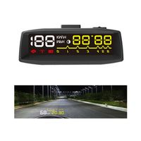 ActiSafety Design 4F OBD2 II EUOBD HUD Head Up Display Car HUD KM/h MPH Overspeed