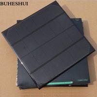 BUHESHUI 4.5W 6V Solar Cell Monocrystalline Solar Panel Solar Module DIY Solar 15pcs