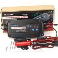 FOXSUR USA Canada Japan 12V 2A 4A 8A 7-stage Battery Charger type battery charger