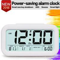 TXL Digital Alarm Clock Student Large LCD Display Snooze