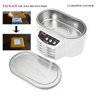 Free Shipping DA-968 2016 New Smart Mini Ultrasonic Cleaner Bath For Cleaning Jewelry Glasses Circuit Board Intelligent Control