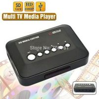 VOXLINK 1080P USB 2.0 HD Multi SD/MMC TV Videos YPrPb AV SD MMC RMVB MP3 HDMI