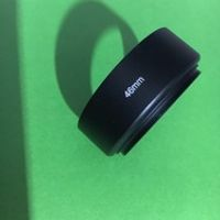 harry good 46mm 35/50mm standard screw in Metal Lens Hood cover for c mount movie