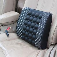 rete 12V Auto Car Seat pillow/waist cushion headrest Universal Fit SUV sedans