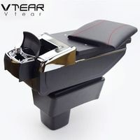 Vtear For SUZUKI Swift armrest central Store content box cup holder ashtray