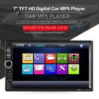 TekBow Car DVD Radio Multimedia Audio Bluetooth LCD Display Touch Screen Stereo Music