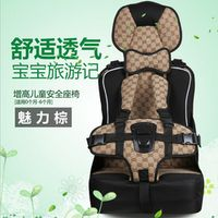 changbvss Breathable Safety Car Seats Children Sitting