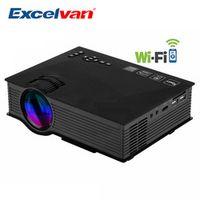 UNIC UC46 Portable Mini Full HD 1080P WIFI Multimedia Home Theater 800x480 1200 Lumen