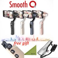 Zhiyun Smooth Q 3-Axis Handheld Gimbal Stabilizer without counterweight  for iPhone Huawei Samsung Android Smartphone