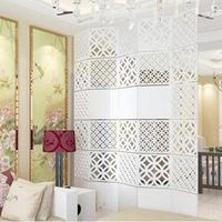 4pieces Modern Simple living room Hanging folding screen