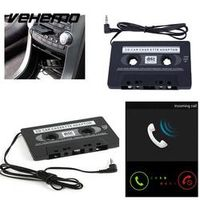 Vehemo 3.5mm AUX Input Car Jack Cassette Tape Adapter Convertor Audio Cable