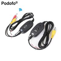 Podofo 2.4G Wireless Transmitter Receiver for Car Reverse Rear View Backup Camera