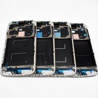 fjsmzx Front Frame Housing For Samsung Galaxy S4 i9505 i9500 i9506 i337 Plate Bezel
