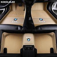 kokololee Custom Car floor mats for BMW 3 5 7 Series E46 E39 E90 E60 E36 E30 E53 X1