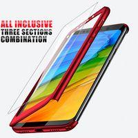 H&A Luxury 360 Full Cover Case For Xiaomi Redmi S2 6A 6 Pro 5 Plus Note 5A 5 Case