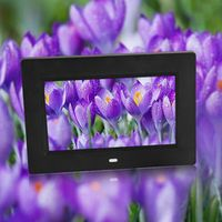 VBESTLIFE 7inch 800 * 480 Slim Digital Electronic Picture Album studio Frame