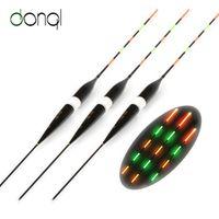 DONQL 3pcs/set Fishing Float LED Electric Light Fishing Tackle Luminous