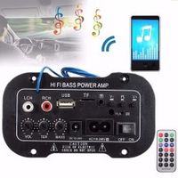Liplasting Car Bluetooth HiFi Bass Power AMP Digital Auto Amplifier Stereo USB TF MP3