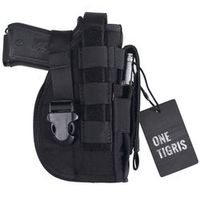 OneTigris Tactical Gun Holster Molle Modular Pistol Holster for Right Handed Shooters