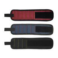 Magnetic Wrist Band Repair Tool Belt Bracelet Magnets Wristbands Holding Scissors Screws Nails Drill Bits Tools Storage Updated!