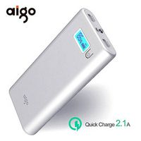 Orico 20000mAh Large Capacity Fast quick charge power bank LCD External Battery