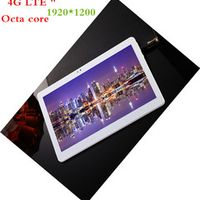 BMXC 10 pulgadas 4G LTE tablet pc smart phone Octa core 1920*1200 HD de Android 7.0