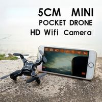 Mini micro rc quadcopter pocket drone remote control small plane fidget spinner kit professional with com hd wifi camera gifts