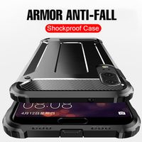 Caldysan Luxury Armor Shockproof Ring Case For Huawei Honor 10 9 For Huawei Mate 20