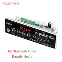 ALLOMN USB Bluetooth Hands-free MP3 Player Integrated Decoder Board Module