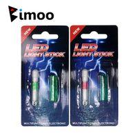 Bimoo 1PC Electronic LED Light Sticks Night Fishing Float for Rod Tip Waterproof Lure