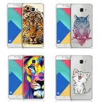 LOVINA CASES Cartoon animal dog lion cub tiger leopard Soft TPU Phone Case Cover