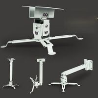 XY SCREENS 4365 Ceiling Mount Roof Bracket White Color Stand For HD Video Projector