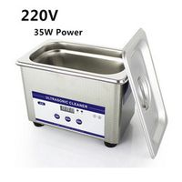 0.8L Digital Ultrasonic Cleaner Sus304 Ultrasonic Cleaner 35W 42khz  220V Jewelry Eyeglasses Watch Cleaning Machine