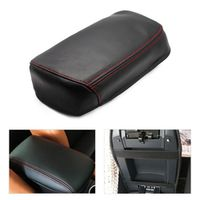 FOXSN Car Console Armrest Box Cover DIY Leather Protection Pad for Toyota RAV4