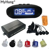 MyHung Parking Sensor LCD Display Monitor Rearview Car Parking Assistance