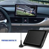"LEADSTAR ISDB-T 10.1"" 16:9 Portable Car TV 1024 x 600 TFT-LED Digital Analog Color"