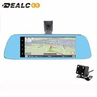 "Dealcoo 7"" Special 3G Car Camera Android 5.0 With GPS navigation Automobile mirror"
