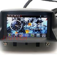 Beautytrees Autoradio Satnav Navi Headunit DVD Player for Renault Megane Touch Screen