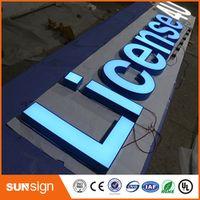 shsuosai Store front lit led channel letter sign