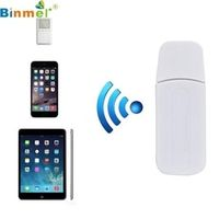 Binmer Factory USB Bluetooth Music Receiver Adapter 3.5mm Stereo Audio For iPhone