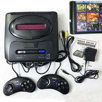 ZOGA 16 bit MD 2 Video Console with US Japan Mode Switch for Original SEGA handles