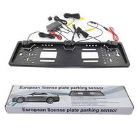 CARKUCO Auto Rearview System European License Plate Video Parking Sensor Reversing