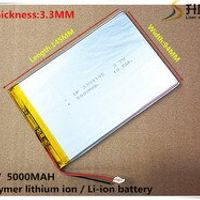 3.7V 5000mAh 3394145 Lithium Polymer Li-Po li ion Rechargeable Battery cells